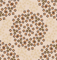 Pattern-with-animal-paws-1 vector