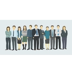 Business group company staff vector