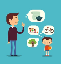 Education and games concept childhood vector