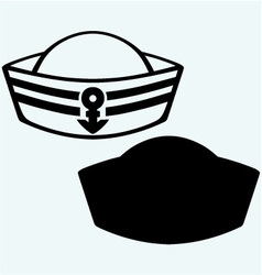 Sailor cap vector