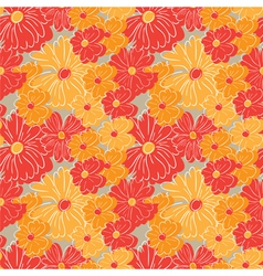 Floral wallpaper - seamless pattern vector