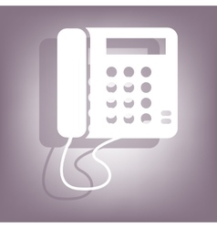 Communication phone icon vector