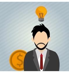 Idea design business concept colorful vector