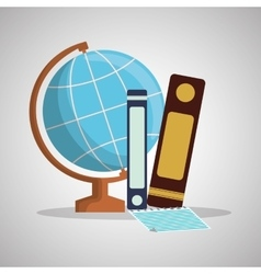 Education design learning icon isolated vector