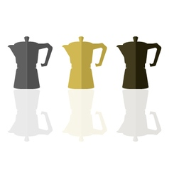 Coffeepot vector