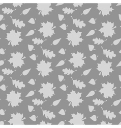 Background with leaves endless seamless pattern vector