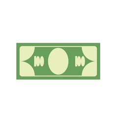 cash sign dollar symbol money emblem financial vector image vector image