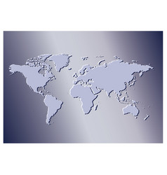 Violet background with map of the world - travel vector