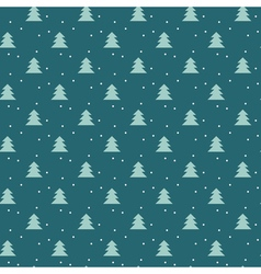 Simple elegant christmas seamless pattern with vector