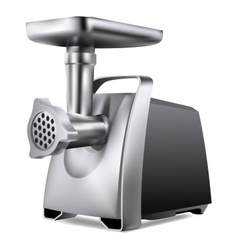 Electric meat grinder vector
