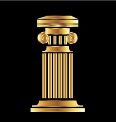 Gold column vector