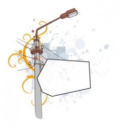 grunge vignette irregular vector image