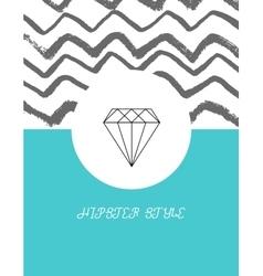 Set of sharp mistical line logos vector image vector image