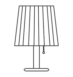 single lamp icon vector image