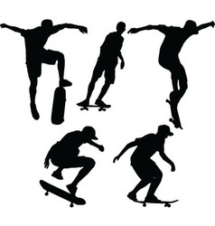 skateboard - vector image
