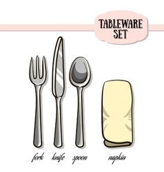 Tableware2 vector