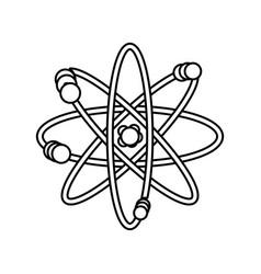 atom science element vector image vector image