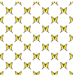 Iphiclides podalirius butterfly pattern seamless vector