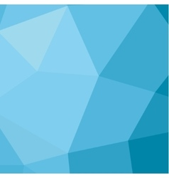 Polygon background in low poly style of modern vector image