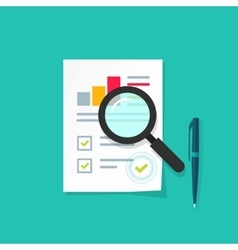 Analytics data research icon  analysis vector