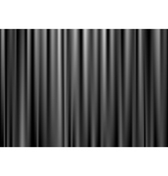 Black curtain vector