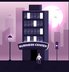 business center vector image vector image