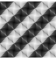 Design seamless vortex stripy geometric pattern vector