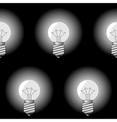 electrical bulbs vector image vector image