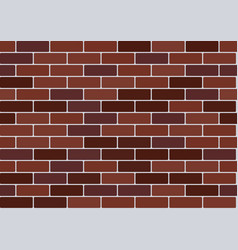 Red brick wallpaper vector