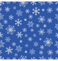 Winter seamless backgound vector