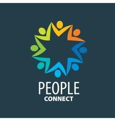 Logo people vector