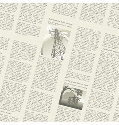 Newspaper seamless vector