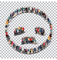 People emoticon smiley icon vector
