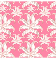 Pink design pattern for wallpaper background vector