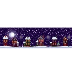 white christmas vector image