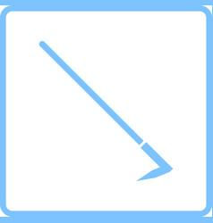 Hoe icon vector