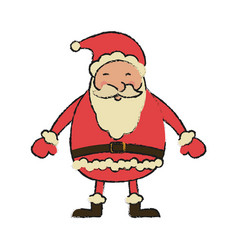 Santa claus christmas related icon image vector