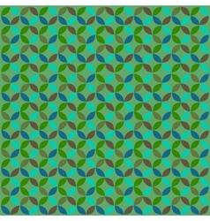 Abstract geometric modern circle pattern vector