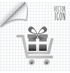 commerce icon design vector image vector image