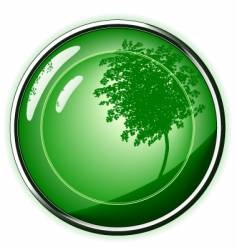 green button vector image vector image