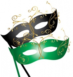 masks vector image vector image