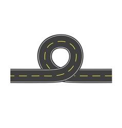 Road with loop vector