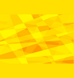 yellow geometric abstract background vector image