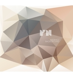 Polygonal design vector