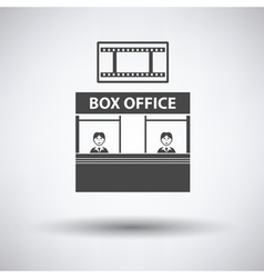 Box office icon vector image vector image
