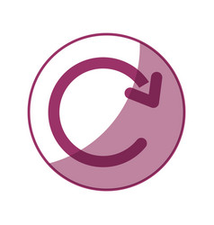 Replay arrow icon vector