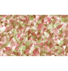 Vibrant polygonal background vector image