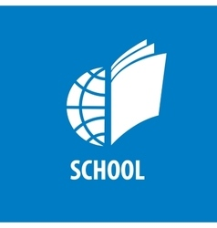 Logo school vector