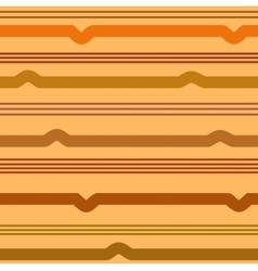 Wavy line brown seamless pattern vector