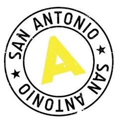 San antonio stamp vector